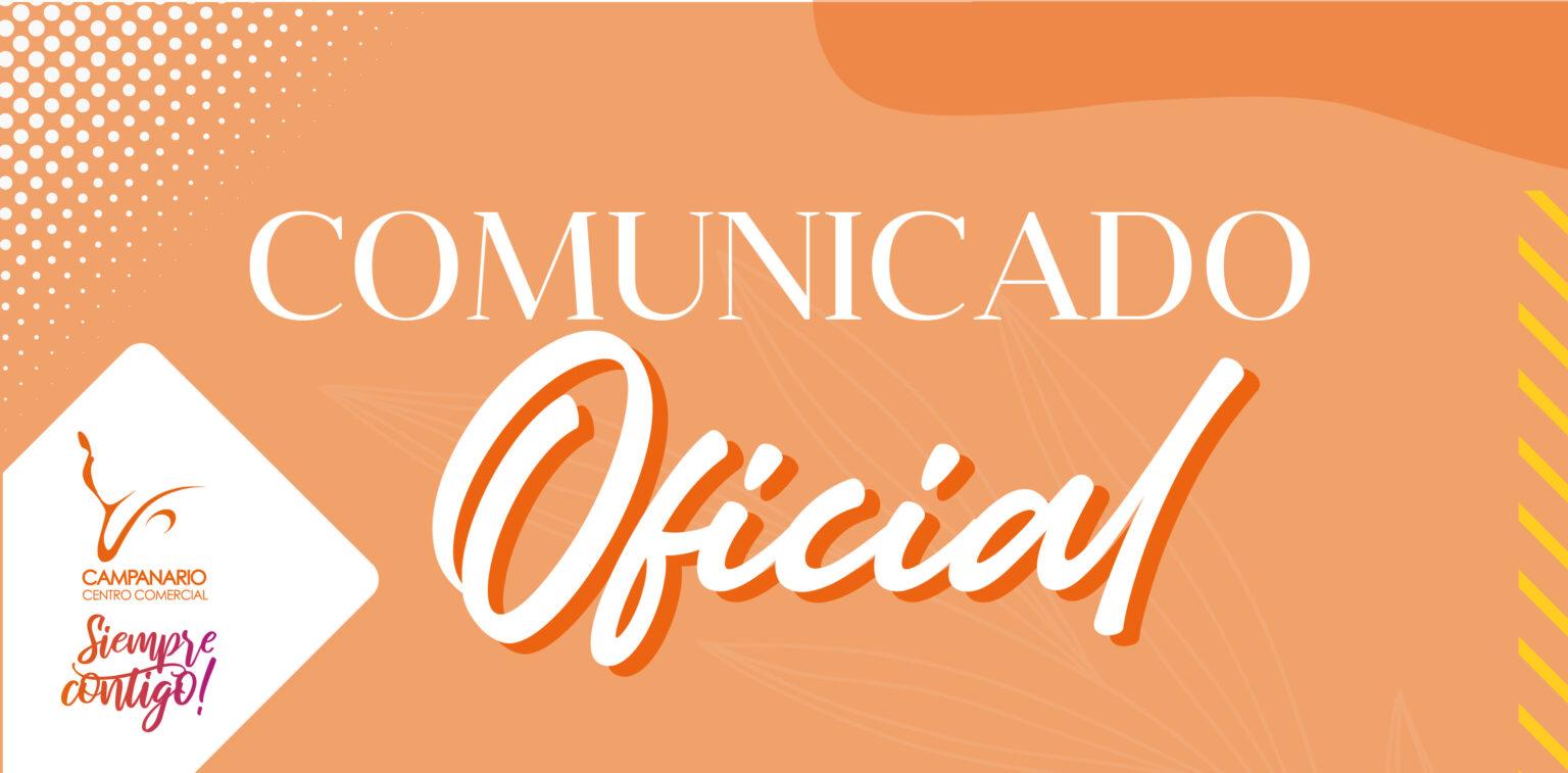 Comunicado Oficial 02